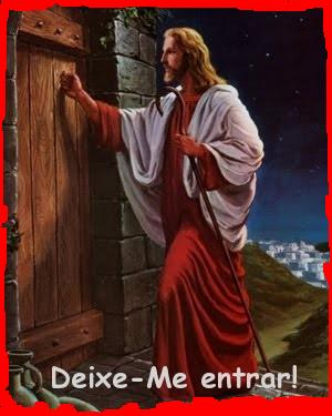 Jesus bate a porta do coração
