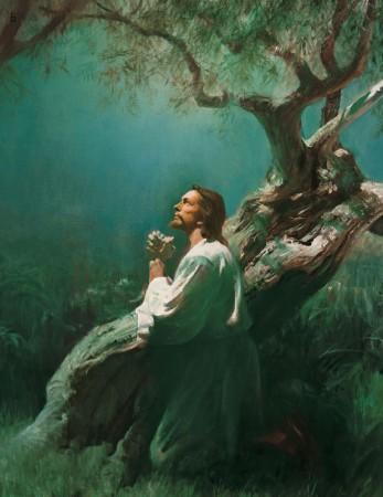 Gravuras_Evangelho_O Novo Testamento_227 Jesus Orando no Getsemani