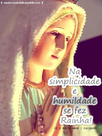 simplicidade maria