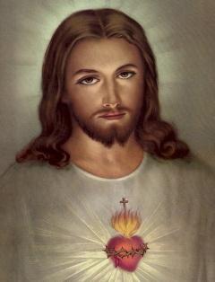 sagrado coração jesus lindo