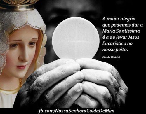maria eucaristia linda