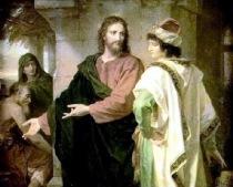 Jesus e jovem rico