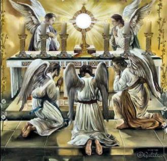 adoração santos_anjos