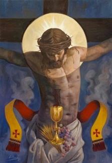 JESUS EUCARISTIA Cristo eucarístico raul Berzosa