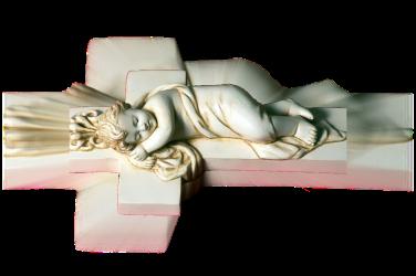 Menino Jesus e a Sua Cruz! Arte Beto Piccolo - Ribeirão Bonito SP