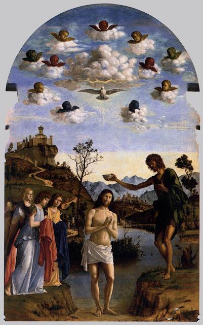 batismo 02baptism of chris  cima de conegliano 1493-94 san giovanni in bragora venice