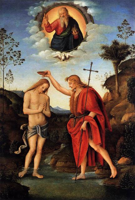 batismo jesus bacchiacca 1520 viena