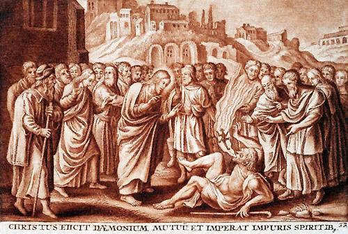jesus cura Gesù-scaccia-spirito