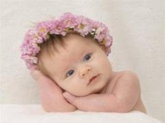 pensar sonhar bebe.coroa.flor.rosa