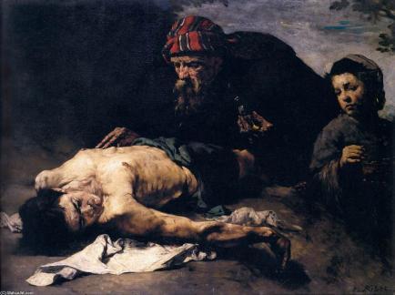 samaritano Theodule-Augustin-Ribot-The-Good-Samaritan