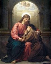 perdão Cristo penitente confissão