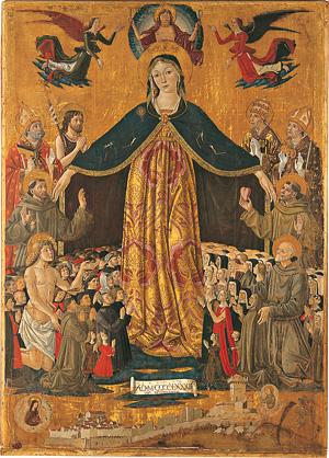 Resultado de imagem para virgem maria mae da igreja